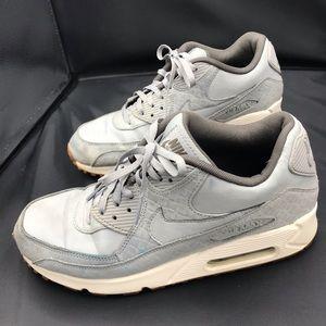 Nike Air Max 90 Premium Wolf Grey/Sail 443817-011